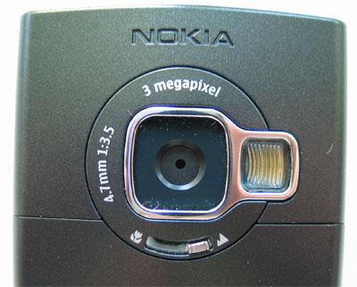 fotocamera dimensioni nokia n80